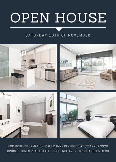sample open house flyer