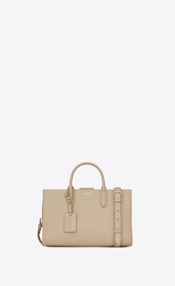 SAINT LAURENT Debbie Woman Medium JANE tote bag in powder leather a V4 b8936d84b5