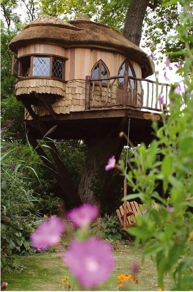 tree houseDreams, Trees Forts, Tree Houses, Treehouse, Gardens, Trees House, Cottages, Trees Home, Places