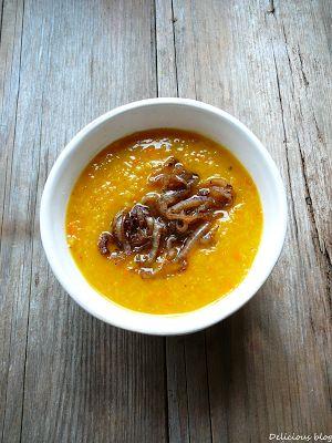 Delicious blog: Dýňovo-čočková polévka