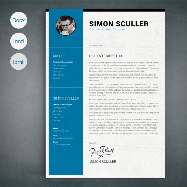 Best 25+ CV images on Pinterest   Resume templates, Cv template and ...