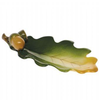 Herend Leaf W/acorns