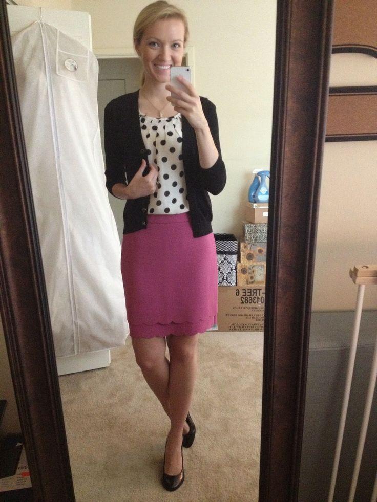 A Little Bit of WoWe : Teacher Style: Skirt Inspiration (13 Looks)