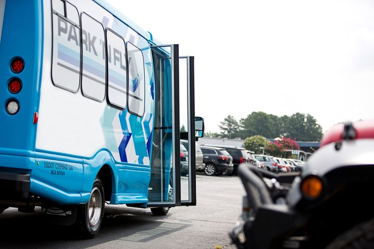 Park 'N Fly shuttle pickup at your car Park s, Airport