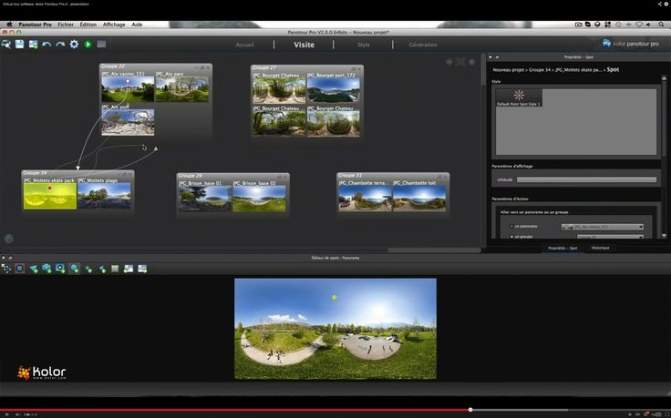 Kolor announced recently the release #Panotour Pro 2.0, virtual tour creation software for professionals.