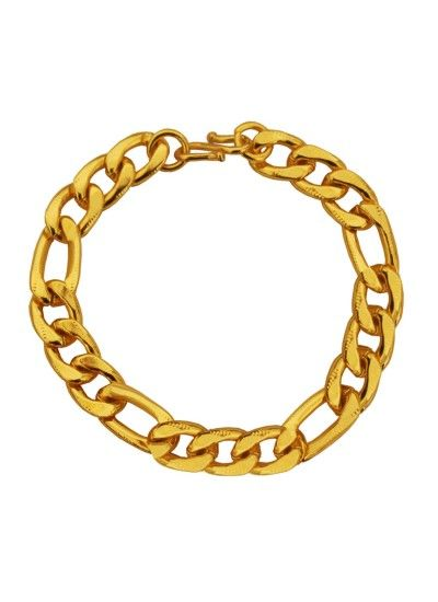 Imported Men's Jewellery Gold 'Simple But Classic' Figaro Chain Design Bracelet For Men Rs. 215/- gift for him,gifts for him india,gift ideas for men birthday,,best gifts for boyfriends,gift ideas for men who have everything,romantic gifts for men, best gifts for husband,mens fashion ,mens style , classy gift,mens gift ideas for birthday gifts for men ideas,www.menjewell.com
