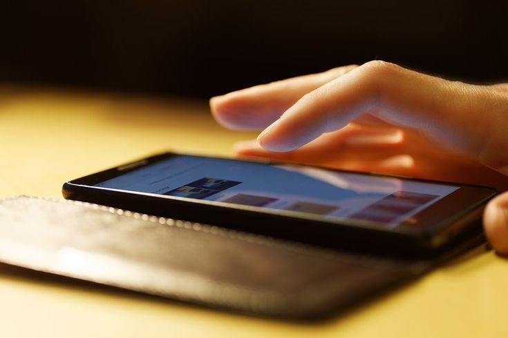 Telefoon foto opslag smartphone