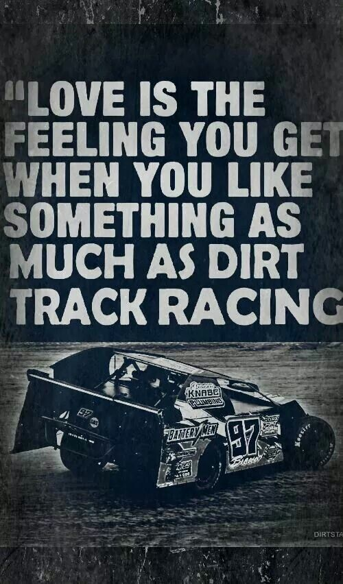 Race Car Quotes Extraordinary 152 Best Racing Junk Images On Pinterest  Dirt Track Racing Race . 2017