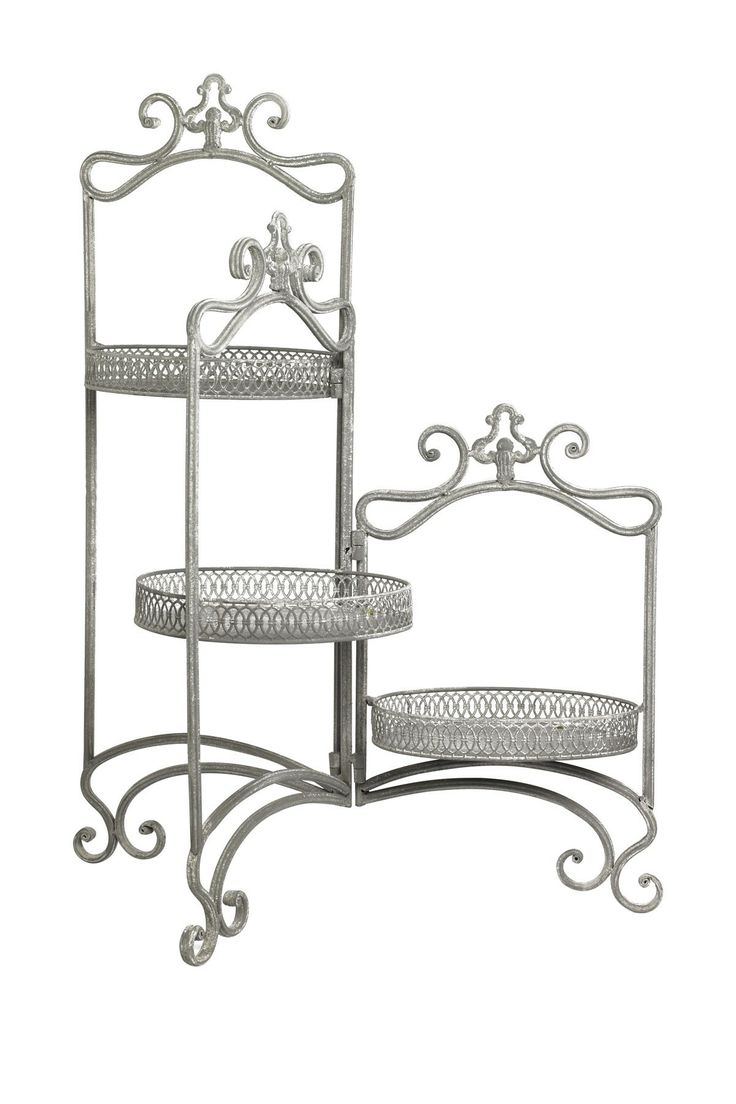 Three Arm Plant Stand - super cute for a corner display or even on a big dining room table if I could find a small one