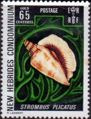 New Hebrides 1972 SG 165 English Fine Mint SG 165 Scott 162 Condition Fine LMM Only one post charge applied on multipule purchases Details N B With