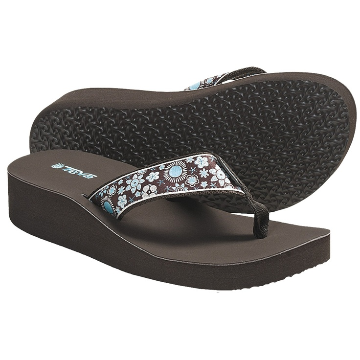 Teva Mandalyn Wedge Flip-Flops For Women  Shoes -2386