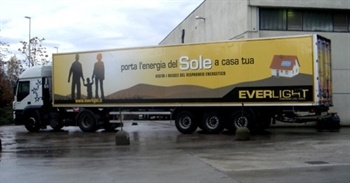 Decorazione camion.