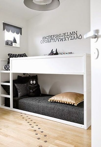 Claves para decorar dormitorios infantiles y juveniles con literas | Decorar tu casa es facilisimo.com