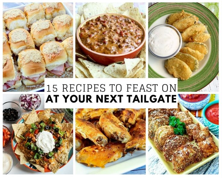15 Recipes to Feast on at Your Next Tailgate