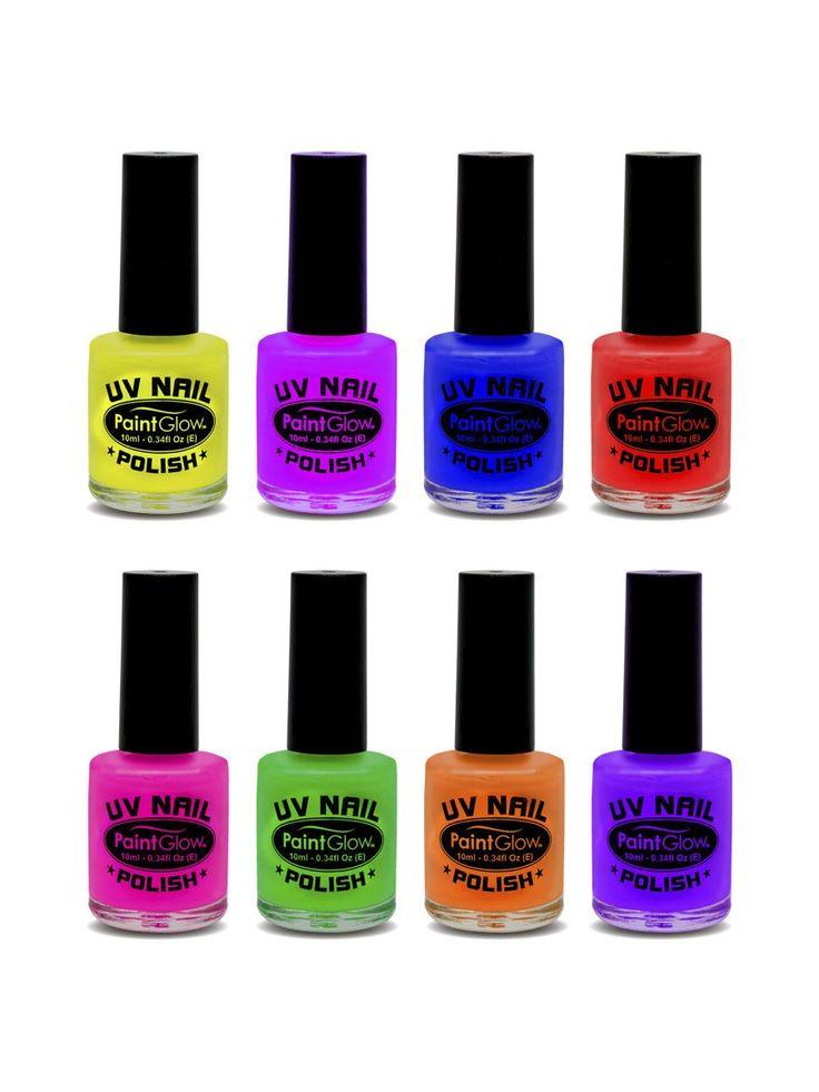 UV-kynsilakka. Useita eri värivaihtoehtoja.