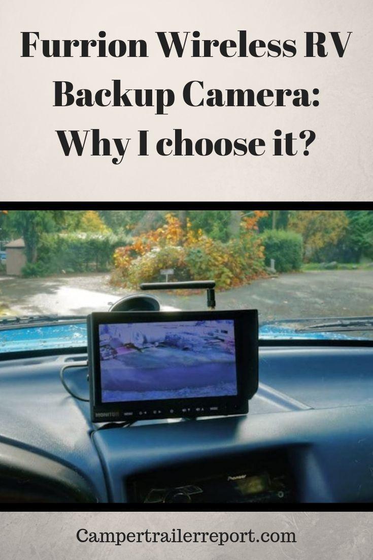 Furrion Wireless Rv Backup Camera Why I Choose It Rv Backup