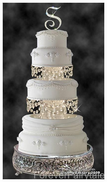 Surprising Wedding Cake Dividers Pictures - Best Image Engine ...