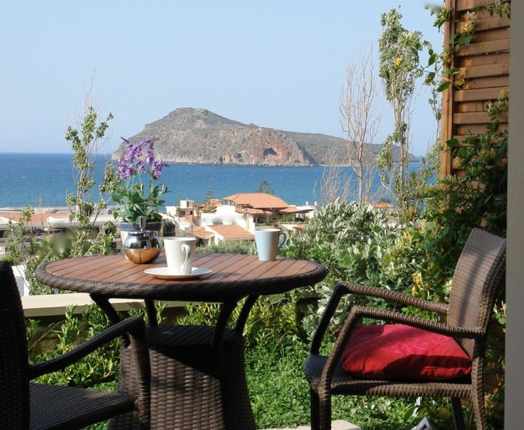 Platanias villa rental - view