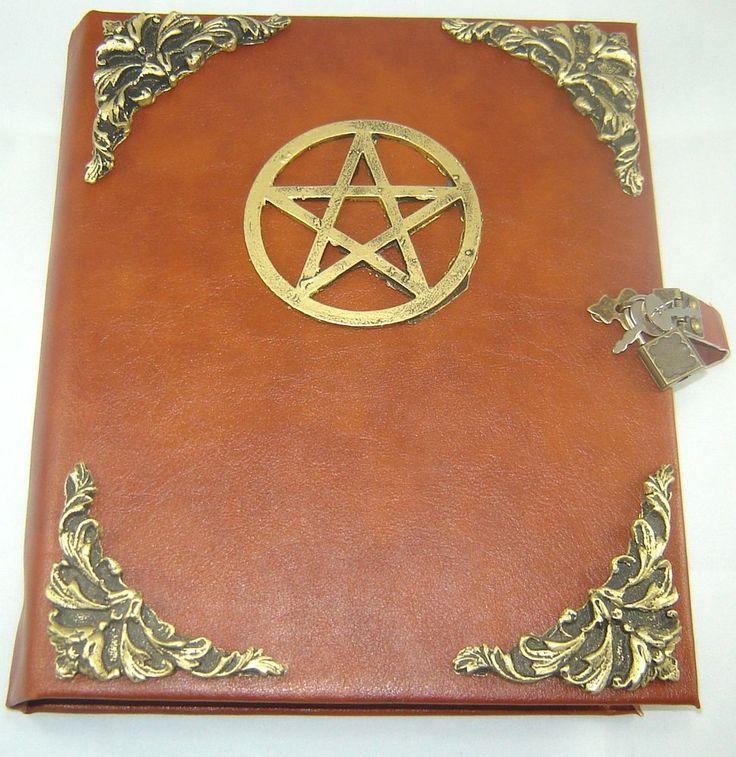Livro das Sombras com Pentagrama cod.248