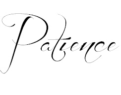 Patience, font: Before the Rain