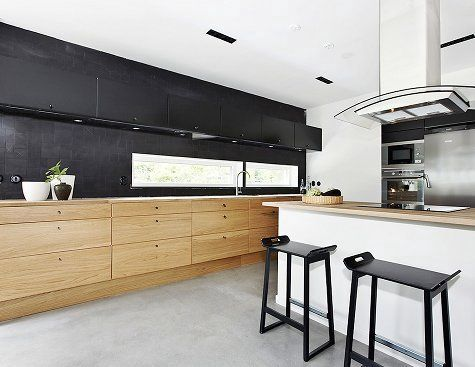 Best 17 Best Images About Kitchen Black White Timber On 400 x 300