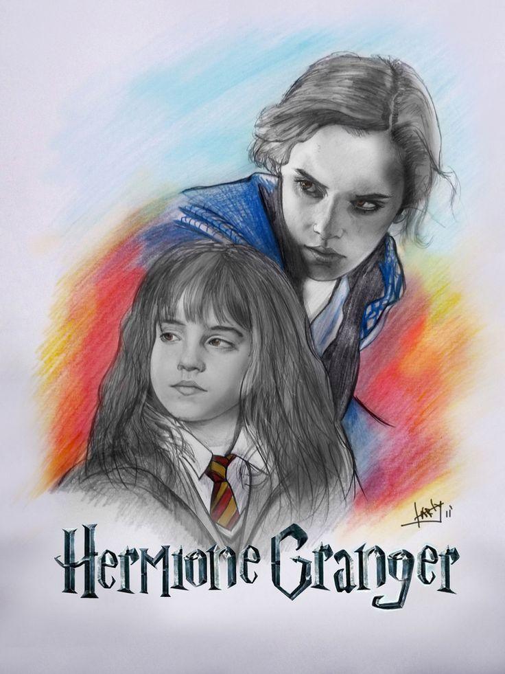 https://flic.kr/p/a5Vaoy | hermione granger | fanart hermione granger!