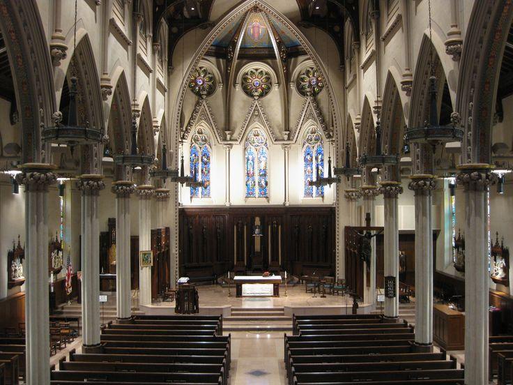 St. Mary's Cathedral. Fall River, MA. Catholic Beauty