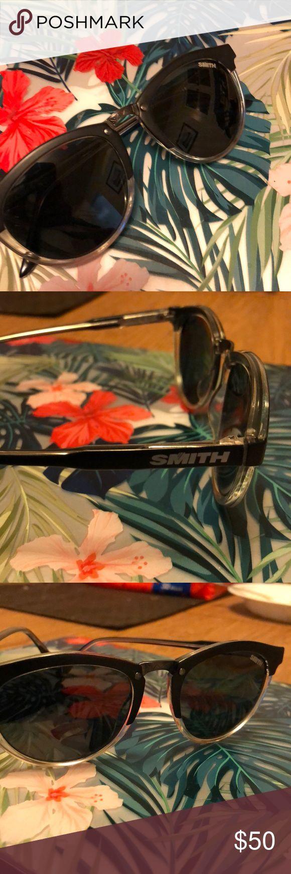Smith sunglasses Black hipster sunglasses SMITH Accessories Sunglasses
