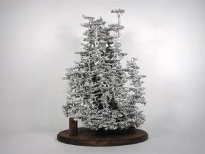 Sculptures produites en versant de l'aluminium fondu dans des nids de fourmis   Ant Colony Sculptures Made By Molten Aluminum