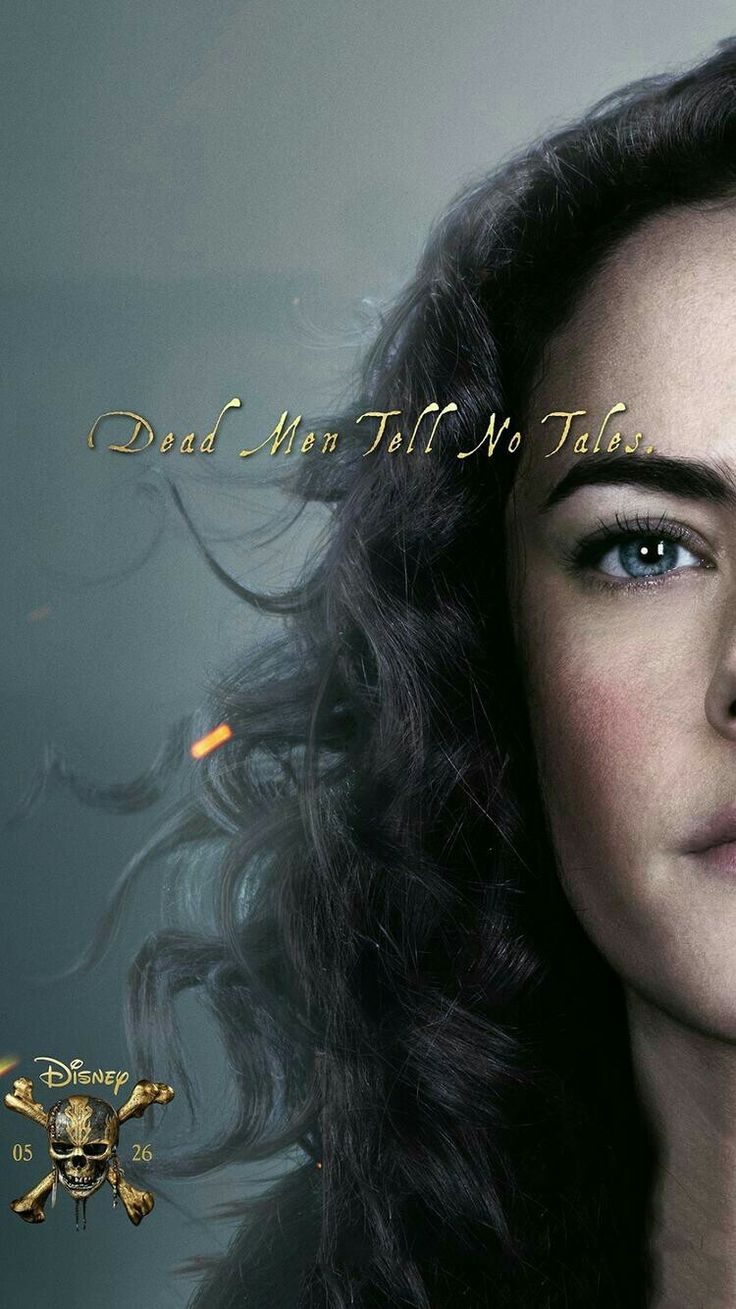 Carina Smyth poster, Pirates of the Caribbean: Dead Men Tell No Tales