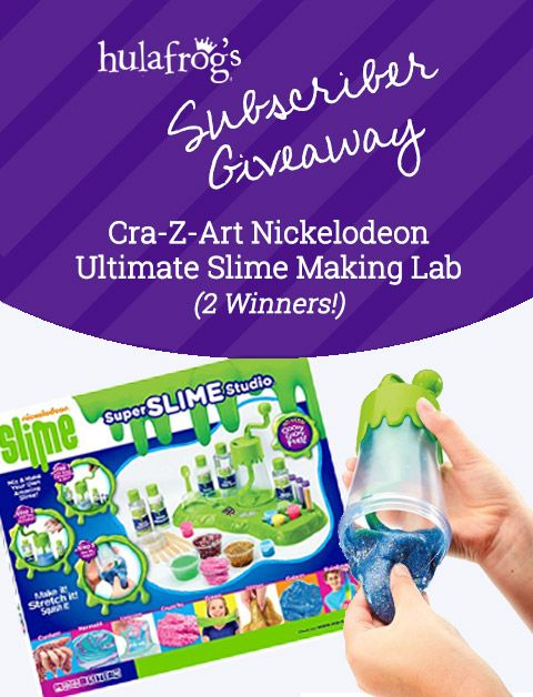 Cra-Z-Art Nickelodeon Slime Lab March 2018 Giveaway #HulaFrog #DMV