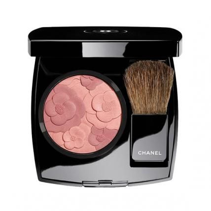 Spring's Prettiest Pastel Makeup - Chanel Jardin de Chanel Blush in Camlia Rose from #InStyle