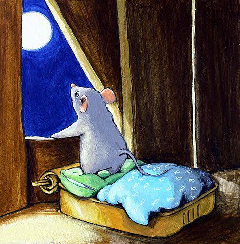 Картинках, картинка с мышами спокойной ночи