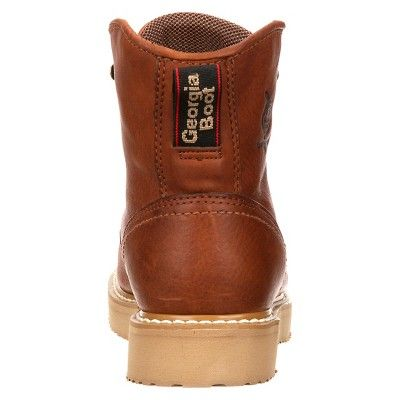 Georgia Boot Men's Wide Width Wedge Boots - Barracuda Gold 11.5W, Size: 11.5 Wide