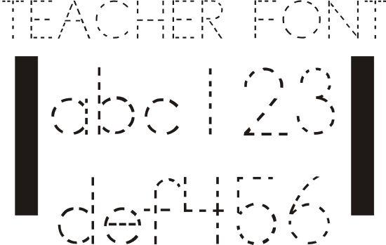 42 Free Fonts for Teachers {Goodie Bag} - Teach Junkie