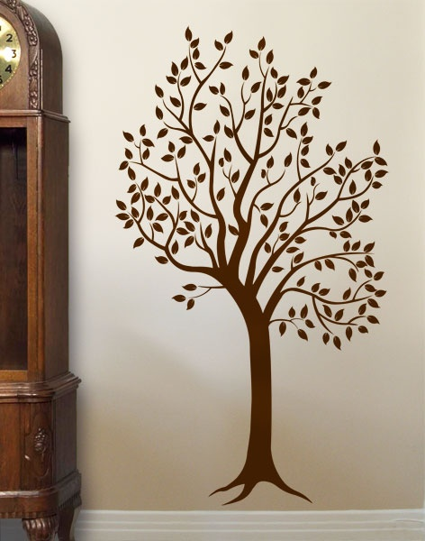 #autocollants #decalques #wall stickers #decals Arbre feuillu / Tree with leaves. $54.95