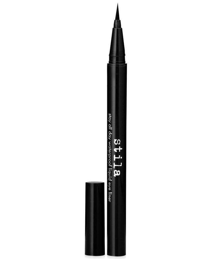 Stila Stay All Day Waterproof Liquid Eye Liner Intense Black TRAVEL New #Stila
