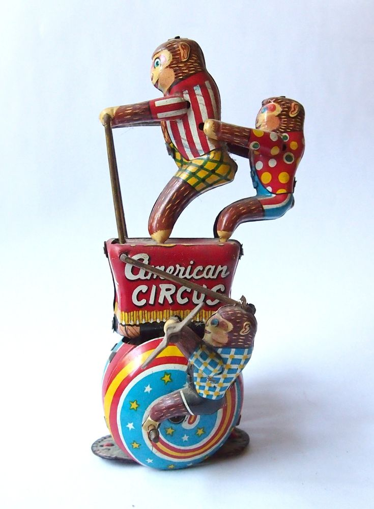American Circus Monkeys Japanese toy I  bought on eBay a few years ago.