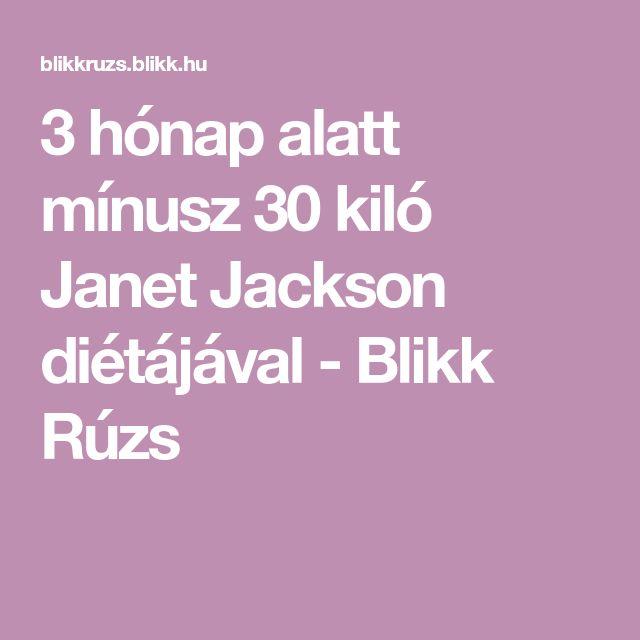 3 hónap alatt mínusz 30 kiló Janet Jackson diétájával - Blikk Rúzs