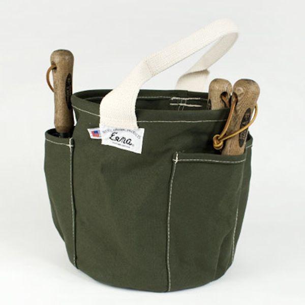 canvas garden tool bag
