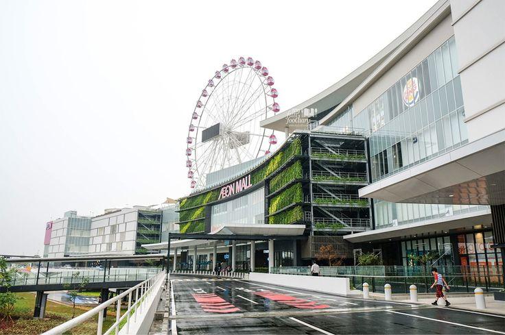 Gloomy weather at AEON Mall Jakarta Garden City