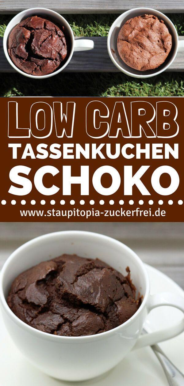 Low Carb Cup Cake Schokolade