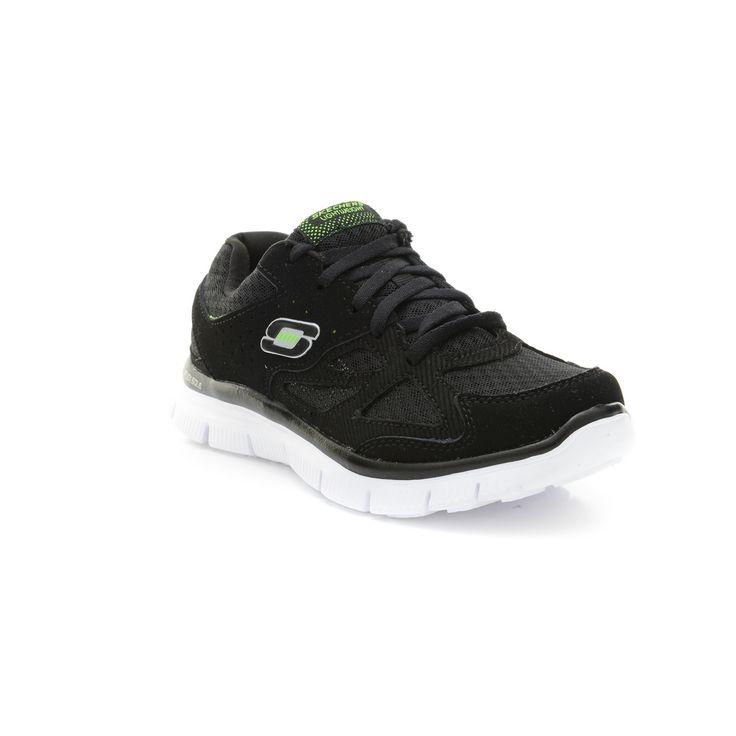 Pantofi sport SKECHERS pentru copii Pantofi sport SKECHERS pentru copii FLEX ADVANTAGE MASTER PLAN 95522L_BKW1