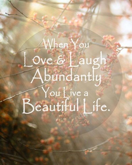 Beautiful Quotes Love: Beautiful Life Love Family Photo Quote Typography Nature