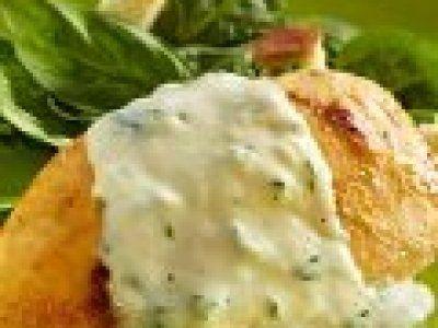Receta de Pechuga de Pollo con Salsa de Espinaca