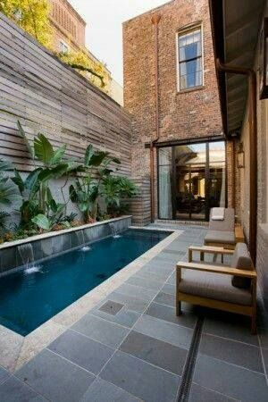 Love the tile colour of this pool