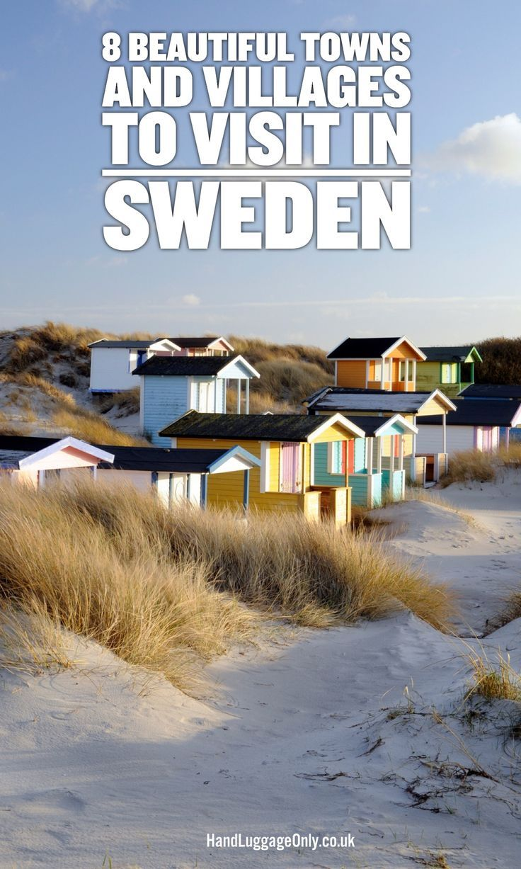 8 Beautiful Towns And Villages To Visit in Sweden. Enjoy your wonderful trip to Sweden.