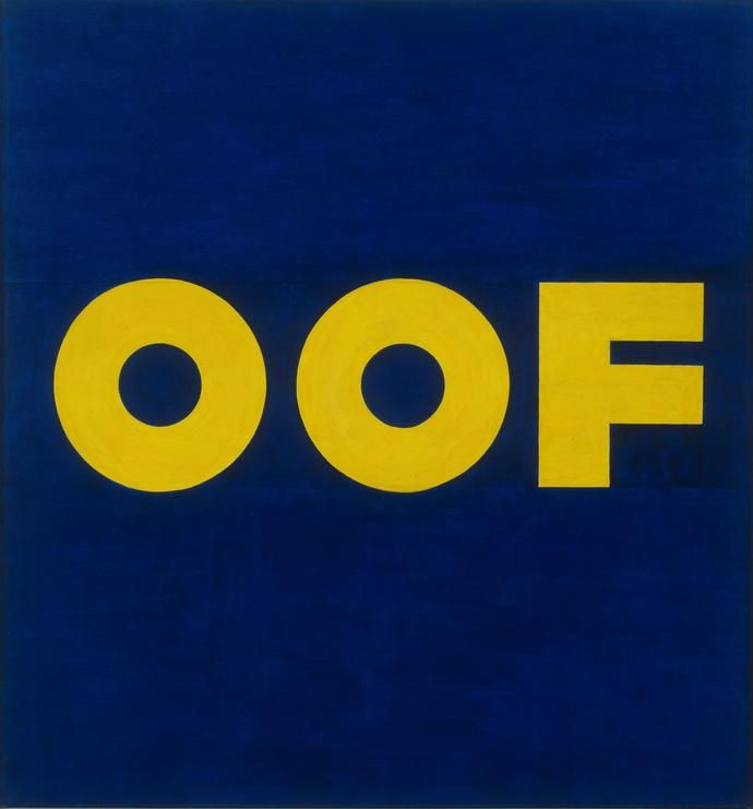 The Museum Outlet - Edward Ruscha - OOF by TheMuseumOutlet, $22.76 USD