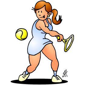 Tennis girl III fc T-Shirt design. #Tshirts #illustration #design #drawing #customprint #POD #CardvibesCatalog #Cardvibes #Tekenaartje #Zazzle #Spreadshirt #Redbubble #Society6