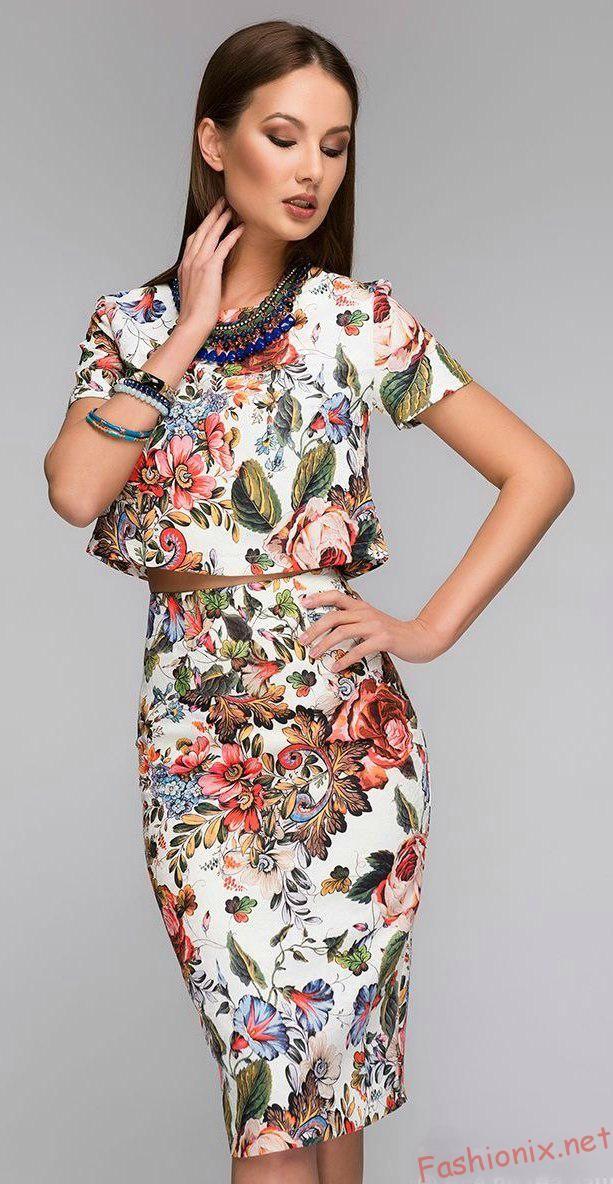 Коктейльные платья весна-лето 2017: модные тенденции - фото